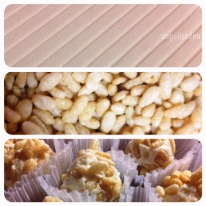White Chocolate Rice Krispies